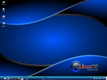 PCLinuxOS 2009.1: Default look